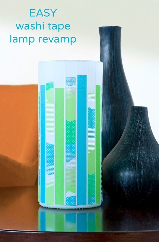 Revamp_a_modern_lamp_with _washi_tape