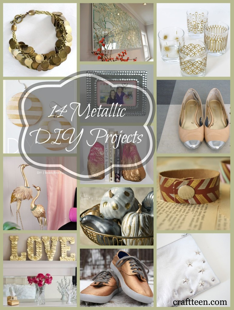14_Metallic_DIY_Projects