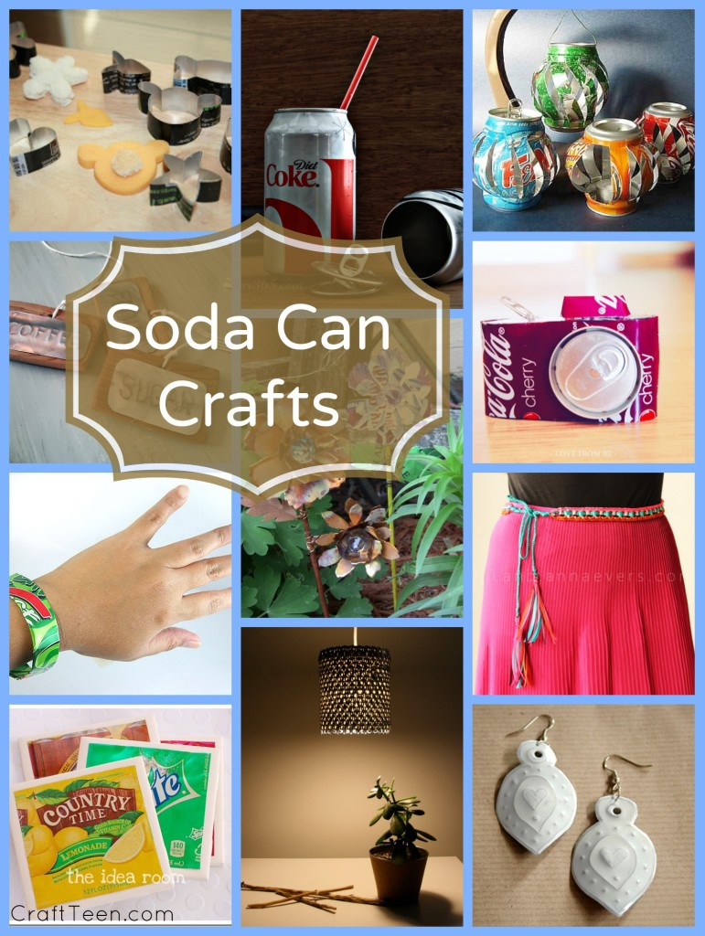 crafts from pop cans
