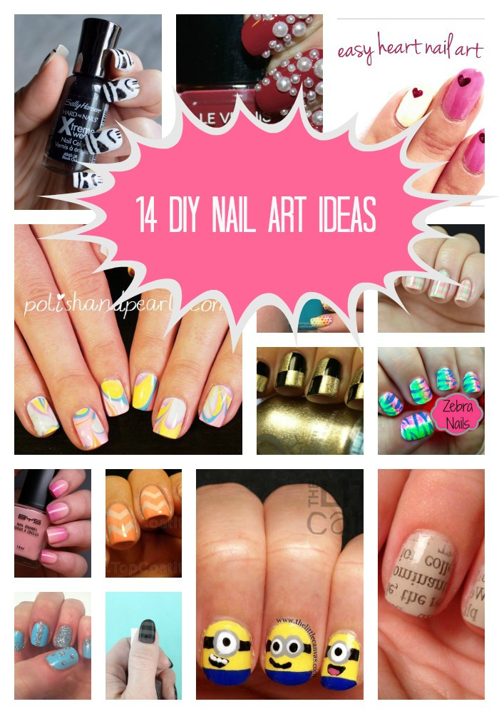 14_DIY_Nail_Art_Ideas - A_Little_Craft_in_Your_Day