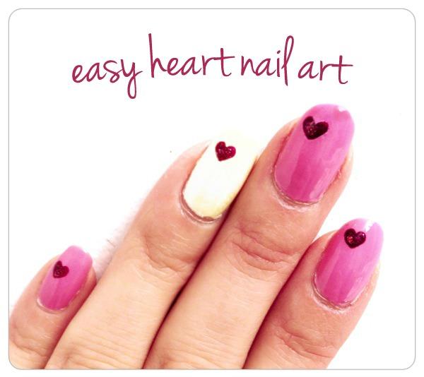 Easy-Heart-Nail-Art-Tutorial