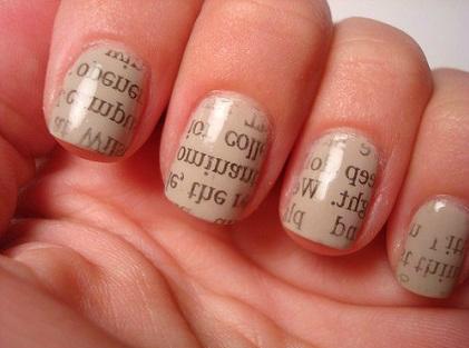 Newspaper-Nail-Art-Tutorial1