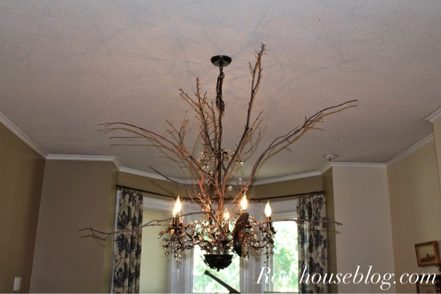 RowHouse Events and Interiors: Fall Light Fixture Tutorial