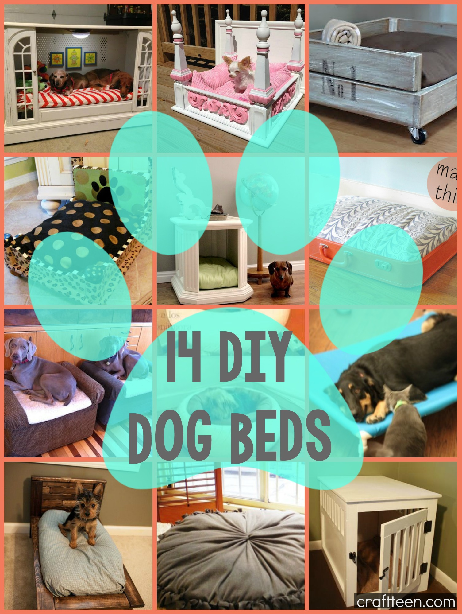 diy end table dog crate | Better Woodworking Ideas