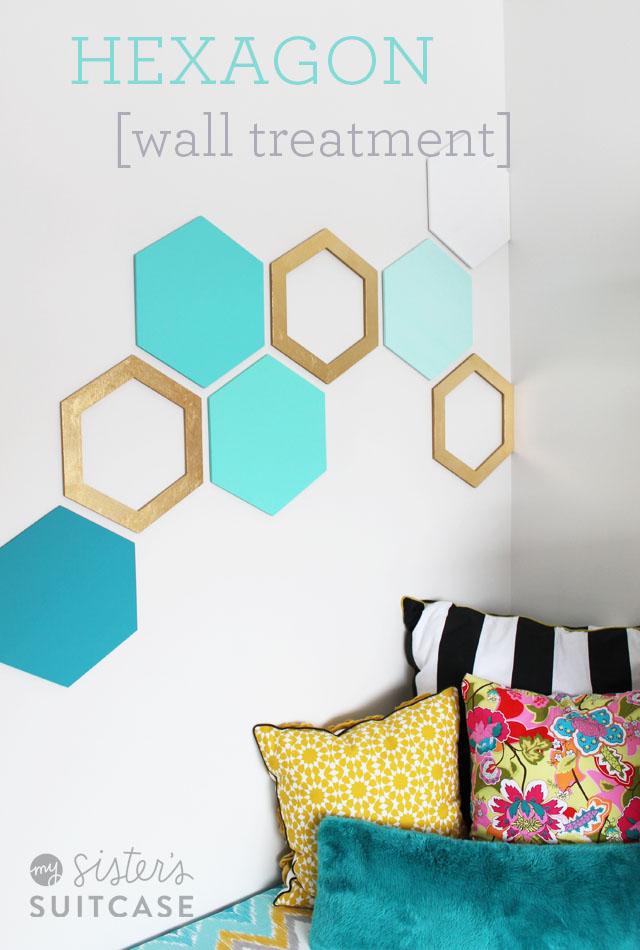 Hexagon_wall_treatment