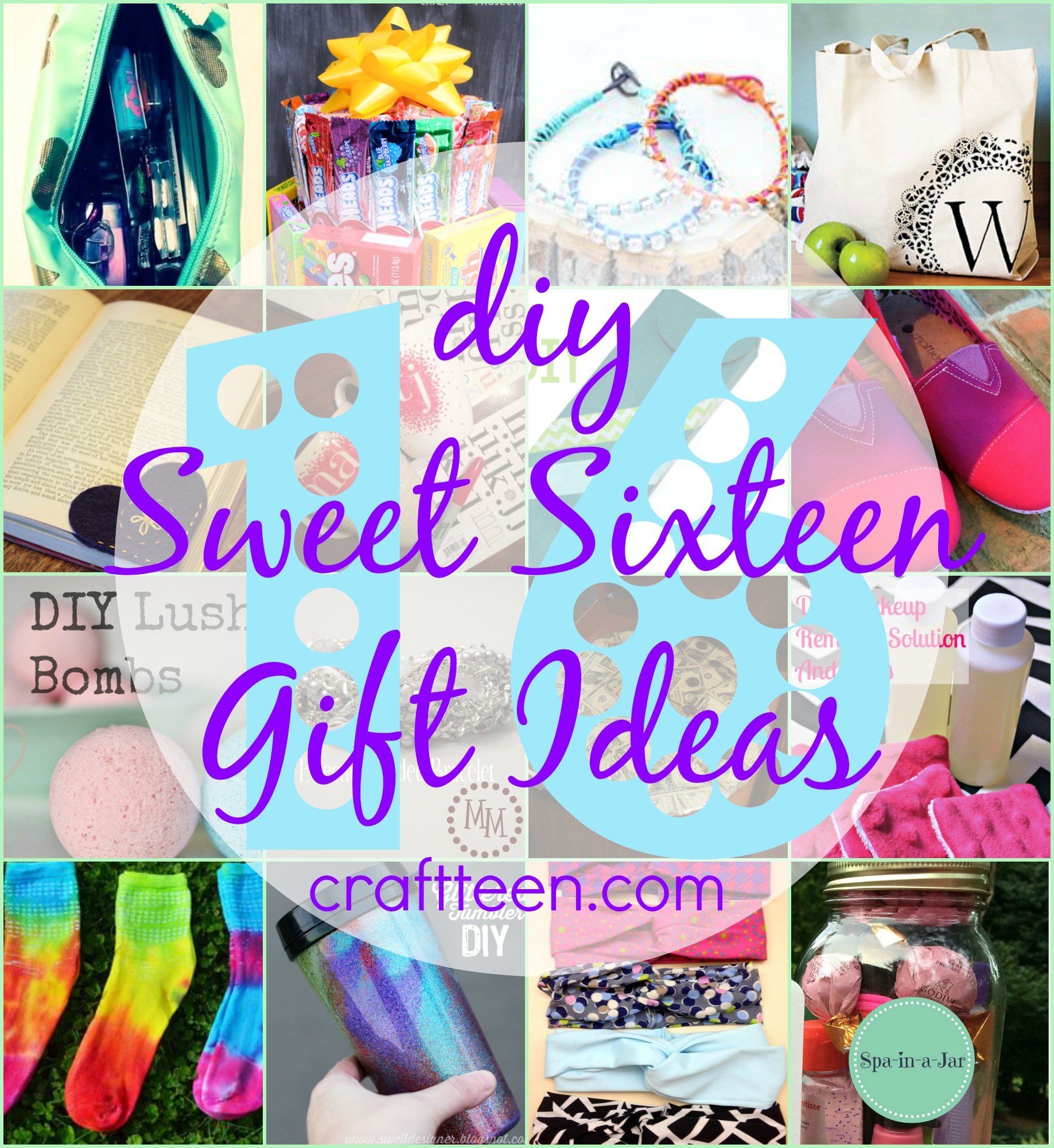 16 sweet 16 gift ideas – craft teen