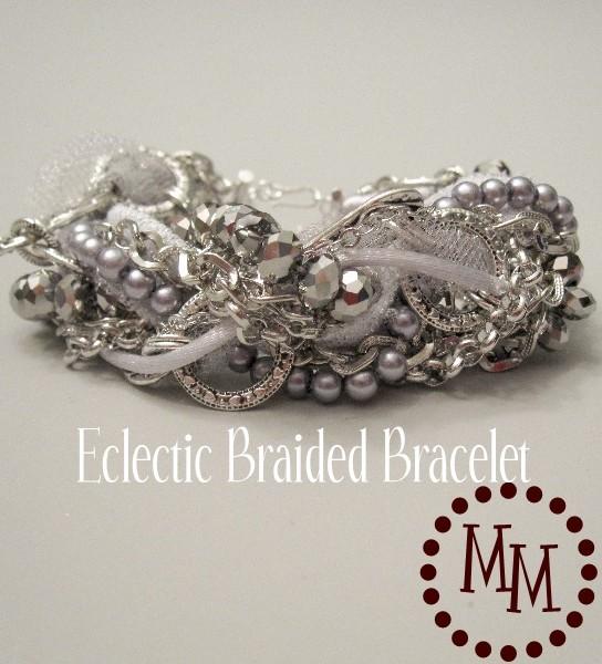 Silver Braided Bracelet 1